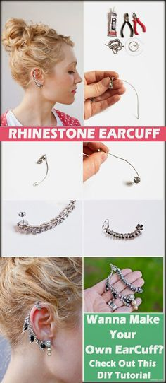 10 Extremely Unique Pieces Of DIY Earcuffs #ZoomDIY