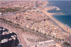 BARCELONETA. Vista aerea. Barcelona, Poland, City Photo, The Originals, Places, Pictures, Beautiful, Romans, Cities