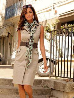 Safari Outfit Women, Safari Outfits, Safari Dress, Diva Fashion, Work Fashion, Womens Fashion, Classy Outfits, Chic Outfits, Fashion Outfits