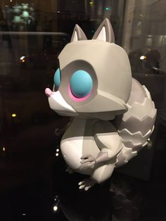 Permanent Guest - No release info Resin sculpture 2014 coarse toys coarselife raccoon