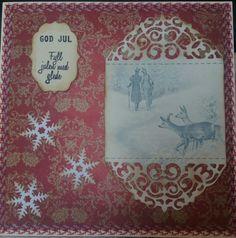 Nydelig julekort .