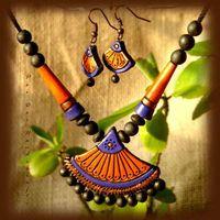 Summer Collection - Summer Orange Mist .. https://www.facebook.com/terracottajewelryindia
