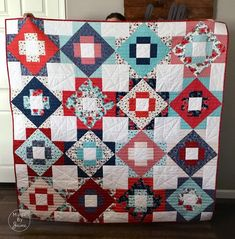 Parade of Projects with Hedge Rose Fabrics – Kelly Panacci Pinwheel Quilt Pattern, Quilt Patterns, Bird Design, Rose Design, Charm Quilt, Brown Bird, Cute Pillows, Extra Fabric, Flannels