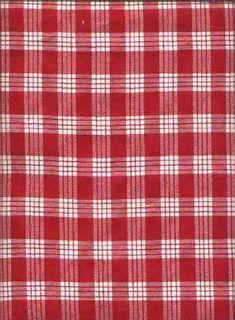 40palaka Hawaiian cotton gingham twill fabric. Hawaiian vintage style fabric.  More fabrics at: BarkclothHawaii.com