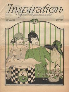 1920s Inspiration Magazine Vol 6 No 3 March 1922