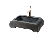 SNAKE – counter top curved basin with small stands, snake skin patterned surface, standard drain and painted front. Produced in custom sizes with variable patterns. Size: L:65cm W:45cm H.15cm