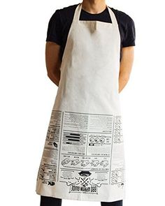 Suck Uk Bbq Apron Cooking Guide, 2015 Amazon Top Rated Aprons #Home