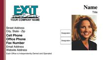 Exit Realty Business Card WP1001. Visit http://www.bestprintbuy.com/exit-realty/exit-realty-business-cards/exit-realty-business-cards-with-photo.htm
