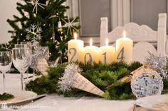 Decori per la tavola di Capodanno