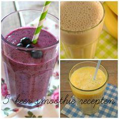 5x smoothie recepten - Lekker en Simpel