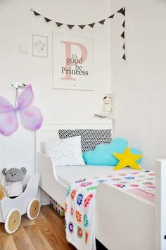 "Foto ""pinnata"" dalla nostra lettrice Rosandra Ferri blogger di mommo design: GIRLS ROOMS"