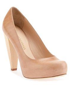 Great pair of nude heels #ruelala