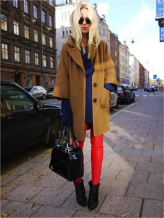 Elin Kling. Red + blue