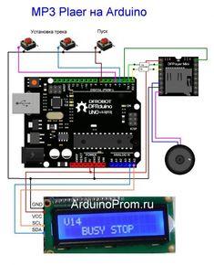 How to Build a Mobile Robot Using Arduino Electronics Mini Projects, Electronics Basics, Electronic Circuit Projects, Arduino Mp3 Player, Arduino Parts, Arduino Controller, Simple Arduino Projects, Learn Robotics, Mobile Robot