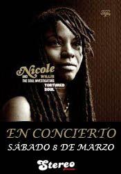 Nicole willis & The Soul Investigators en concierto en la Sala Stereo http://www.agendalacant.es/index.php/nicole-willis-the-soul-investigators-en-concierto-en-la-sala-stereo
