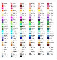 The Colorspm Module Contains A Hash Called Colorscolor Rgb That