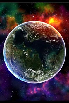Cosmic Earth iPhone Wallpaper HD. You can download this free iPhone Wallpaper for your iPhone 3g, iPhone 3gs, iPhone 4, iPhone 4s & iPhone 5 from: http://www.iphonewallpaperstore.com/background-13138-cosmic-earth/