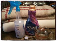 I do love Winter but I hate the Static Electricity that often comes with it as the air gets drier. To deal with it, I mix 2 TBSP. fabric softener (any brand) with 2 cups water. Pour into a spray bottl Wall Carpet, Diy Carpet, Carpet Ideas, Modern Carpet, Static Clothes, Cleaning Hacks, Cleaning Supplies, Carpet Remnants, Static Electricity