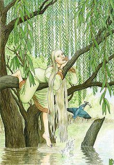 Николай Фомин. Деревья как женщины. Nikolai Fomin. Trees as women.