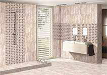 Ceramics bathrooms decor and tile on pinterest for Bathroom designs kajaria
