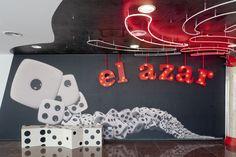 Entrada a la sala El Azar, dentro del Lugar a Dudas