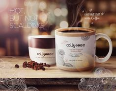 Imagine this: A self-heating mask that seems to magically warm to the touch and surround skin with a warm, healing feeling. Coffee Mix, Cosmetics, Warm, Mugs, Tableware, Hot, Dinnerware, Tumblers, Tablewares