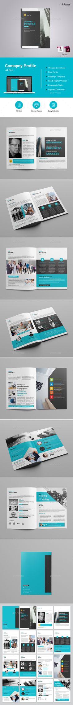 #Company Profile - #Corporate #Brochures Download here:  https://graphicriver.net/item/company-profile/20446986?ref=alena994