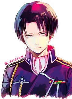 Shingeki no Kyojin (Attack on Titan) - Levi