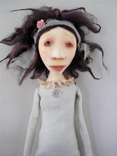 Cindy Riccardelli Handmade folk art dolls