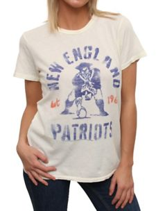 NFL New England Patriots Original Vintage Washed Crew Football Outfits 13040be5442b