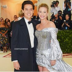 Cole and Lili at Met Gala 2018 They look perfect together