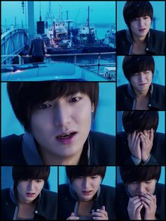 Lee Min Ho, City Hunter collage.