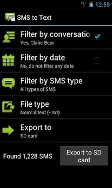 SMS to Text - http://androidvb.com/sms-to-text/