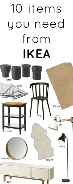 IKEA Must Haves -10 Items That Caught My Eye