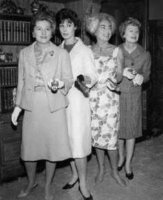 Joan Fontaine, Rita Gam, Joan Crawford, Irene Dunne   Flickr - Photo Sharing!