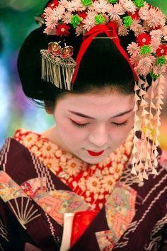 maiko/kanzashi