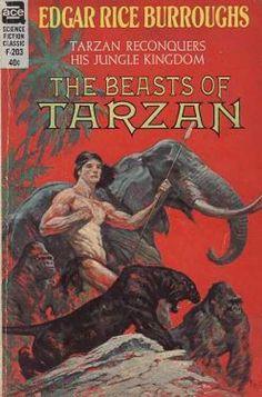 Ace Books - The Beasts of Tarzan - Edgar Rice Burroughs