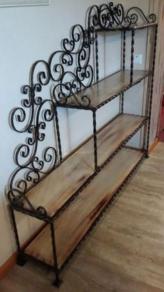 Varieties of Wrought Iron Doors for Your Properties - Decor And Home Iron Furniture, Unique Furniture, Furniture Design, Wrought Iron Decor, House Plants Decor, Interior Decorating, Interior Design, Iron Doors, Home Furnishings