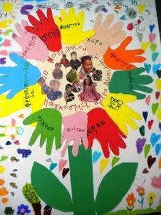 20 Νοεμβρίου - Παγκόσμια Ημέρα   των Δικαιωμάτων του Παιδιού .   Ζωγραφίζουμε - γράφουμε τα Δικαιώματά μας .   Τα νήπια χωρίστηκαν...