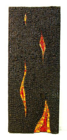 1 by ari kokomosaico Fused Glass Art, Mosaic Glass, Stained Glass, Mosaic Art Projects, Mosaic Ideas, Mosaic Wall Art, Tile Mosaics, Mosaic Stepping Stones, Photo Mosaic