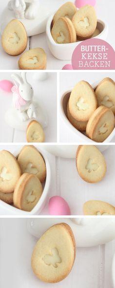 Rezeptideen für Ostern: Leckere Kekse mit Ostermotiv backen / easter recipes: bunny cookies via DaWanda.com