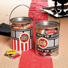 Movie Night Favor Containers - OrientalTrading.com