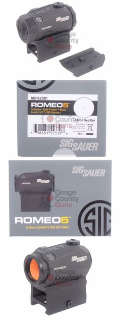 Red Dot and Laser Scopes 66827: [Sor52001] Sig Sauer Romeo 5 Compact Red Dot Romeo5 Sight For Picatinny Motac -> BUY IT NOW ONLY: $146.99 on eBay!