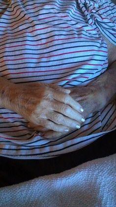 Mama's beautiful hands