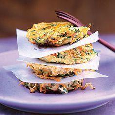 Zucchini-Möhren-Puffer Rezept | Küchengötter
