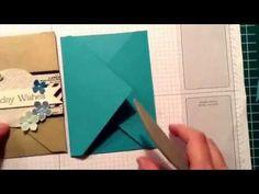 Stampin 'Up! Caroline van der Straaten, Independent Stampin 'Up! demonstrator: Stampin 'Up! Envelope Punch Board video card *** !! ***