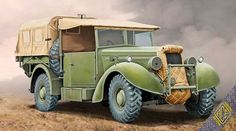 Humber Super Snipe Lorry 8CWT FFW. Ace, 1/72, No.72552. Price: 13,50 EUR (marketplace).