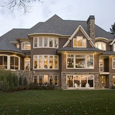 Traditional Brick Home Exteriors | Traditional Home Exterior Products Design Ideas, Pictures, Remodel ...