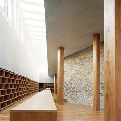 Bruno Fioretti Marquez Architekten- Schweinfur Library, Sinsheim 2007