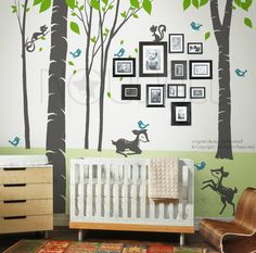 Vinyl Wall Decal Wall Sticker Tree Decal Fantasy von NouWall, $98.00